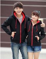 Áo Khoác Cặp RED - đen